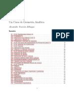 Geometria Analitica UERJ 2019 1 CCOMP