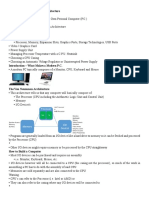 Hardware Technologies and Architecture FUNDSYS