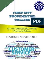 Facilitate Ppt on Customer Service