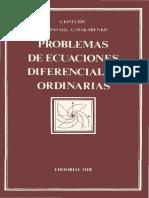 Problemas de ecuaciones diferenciales ordinarias