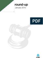 Liability Round-Up - January 2010