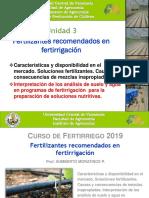 Interpretacion de Analisis de Suelo y Agua Para Fertirrigacion 2015