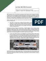 QBE Climate Wise - 2010 Case Study Procurement