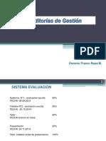 Auditorías de Gestión - Clases UNAB Auditorías de Gestión 2da Solemne - Vespertino