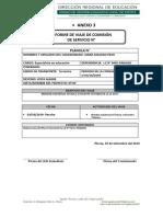Anexo 3 - Informe de Viaje de Comisión de Servicio