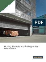 rolling shutters catalouge