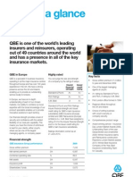 QBE at a Glance Factsheet