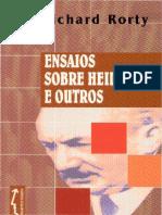 Ensaios sobre Heidegger e outros - Richard Rorty.pdf