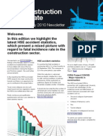 QBE Casualty Risk Management Construction Newsletter February 2010