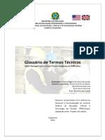 Glossário de termos técnicos em ingle/ português  para Edificações