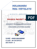 Physics Projectt Power Bank789