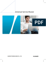 Huawei NE20E-S Router Product Brochure