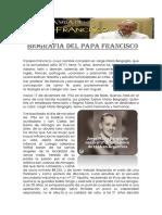 Biografia Del Papa Francisco Word