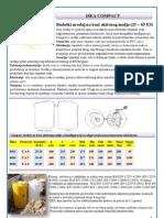 COMPACT- bioloski uredjaj na bazi aktivnog mulja ISEA - katalog