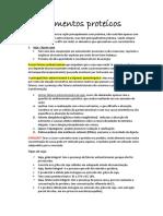 Alimentos Proteicos- Debora
