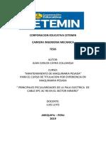 PRINCIPALES PECULIARIDADES DE LA PALA ELECTRICA  DE CABLE XPC AC-90 EN EL SECTOR MINERO.docx