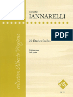 20 Etudes Faciles.- Simone Iannarelli..pdf