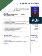 CV Chandra Mohan