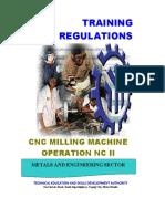 CNC Milling Machine Operation NC II