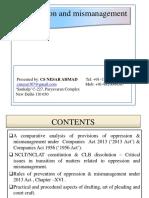 Oppression & Mis-management_by CS Nesar Ahmed.pdf