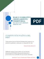 Marco Normativo Ordenamiento Territorial