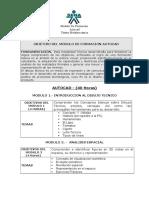 Modulo  Dibujo Técnico Lineamientos 2014