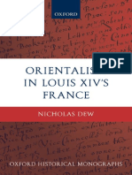 Nicholas Dew - Orientalism in Louis XIV's France (Oxford Historical Monographs) (2009).pdf