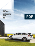 Volvo Cars Sustainability Report 2013