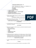 Laboratorio Dec. 54-77