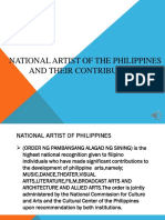 National Artist of the Philippines (Cc)