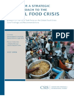 A call for a strategic U.S. approach to the global food crisis