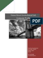 Union Street's Company Profile