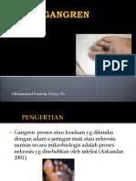 perawatan gangren