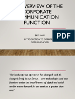 Copy of Ch 2 Functions of Corp Comm