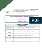 Criterios de Evaluación Itpc