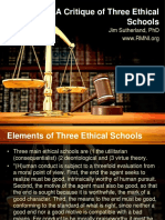 Three Ethical Schools