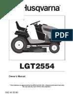 Husqvarna 07002 Lawn Mower User Manual