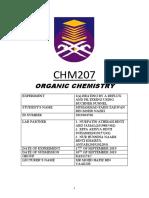 Lab Report Chm207