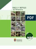 Anfibios y Reptiles de Pamplona