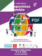 Proyecto Educativo 3 4 ESO y Bachiller1