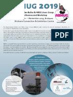 ABHUG 2019 Program and Registration v8