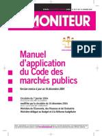 Manuel de Marches Publics