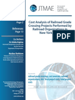 Cost Analysis of Railroad Gr