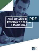 Guia Admision Univ Francisco Vitoria