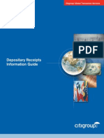 Depository Receipts Information Guide_Citigroup
