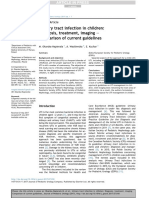 Urinary Tract Infection in Children Diagnosis, Treatment, Imaging – Comparison of Current Guidelines 10.1016@j.jpurol.2017.07.018
