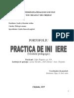 PRACTICA de Initiere 2019 Modulul Psihopedagogic
