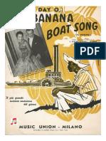 Banana Boat Song (Day O)