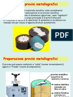 Preparazione Campioni Metallografici (Metallographic Sample Preparation)