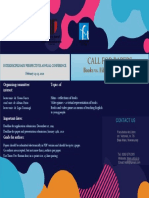 Call for Papers Matyas Orsolya